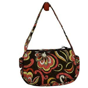 Vera Bradley Puccini Mini Bag Floral Quilted